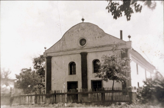 Synagogue in Botfalva, Czechoslovakia